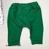 Комплект футболка, шорты, кепка Зелёный Murat baby Турция 56-62 (р), фото 5