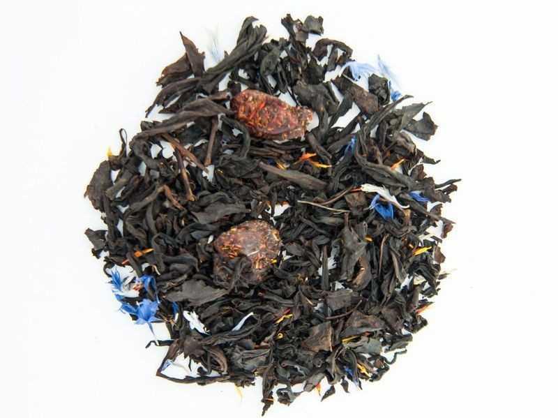 Чай Teahouse Тиахаус Дикая вишня 250 г Tea Teahouse Wild Cherry 250 g