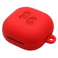 Силиконовый футляр для наушников Samsung Galaxy Buds Live / Buds Pro Красный