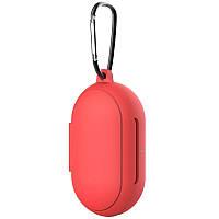 Силиконовый футляр для наушников Samsung Galaxy Buds / Buds Plus Красный