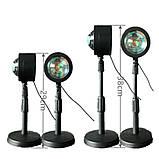 Проекционный светильник Sunset Lamp радуга USB светильник проектор свет радуги атмосферная лампа для фото, фото 3