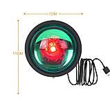 Проекционный светильник Sunset Lamp радуга USB светильник проектор свет радуги атмосферная лампа для фото, фото 4