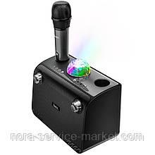 Колонкa HOCO BS41 Warm Sound K Song wireless speaker \ black