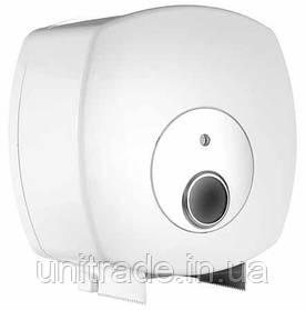 Диспенсер для туалетного паперу джамбо (білий)