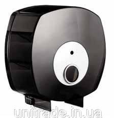 Диспенсер для туалетного паперу джамбо (чорний)