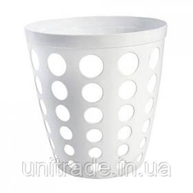 Пластикова корзина офісна ( біла )