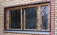 Конструкция решетки на окна