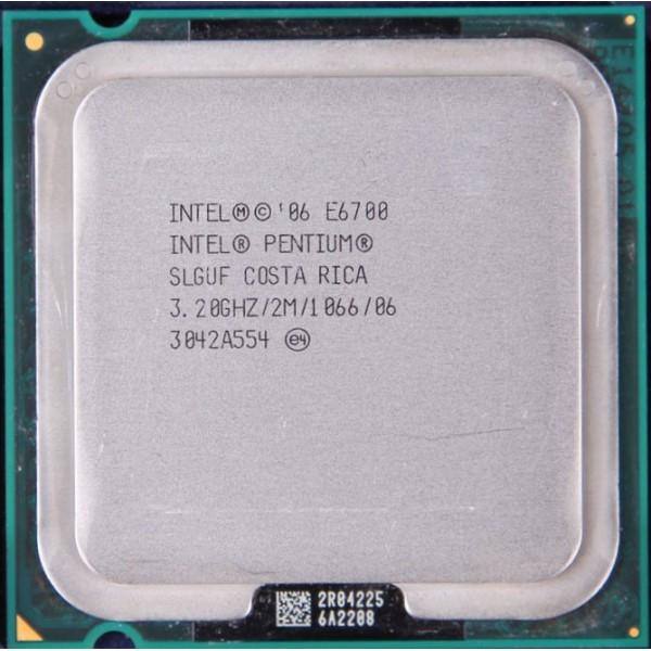 Процесор Intel Pentium E6700-3,20GHz- Б/В