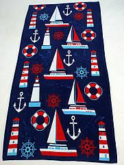 Полотенце пляжное Яхта