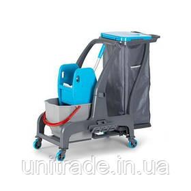 Професійна візок для прибирання FANTOM PROFESSIONAL з мішком