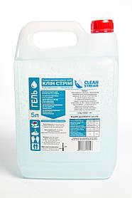 Дезінфікуючий засіб для рук і невеликих поверхонь CLEAN STREAM (5л гелева форма)