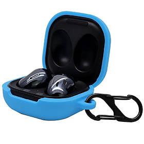 Силіконовий футляр для навушників Samsung Galaxy нирки золото Live / нирки золото Pro Синій