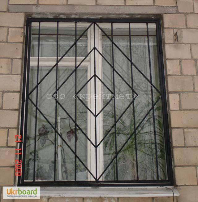Решетки на окна варианты