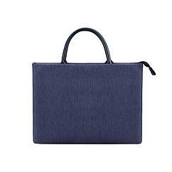Женская сумка портфель для документов - Темно-синий
