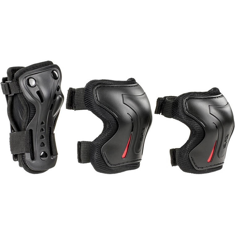 Комплект захисту SFR Essentials Jr M black, фото 2