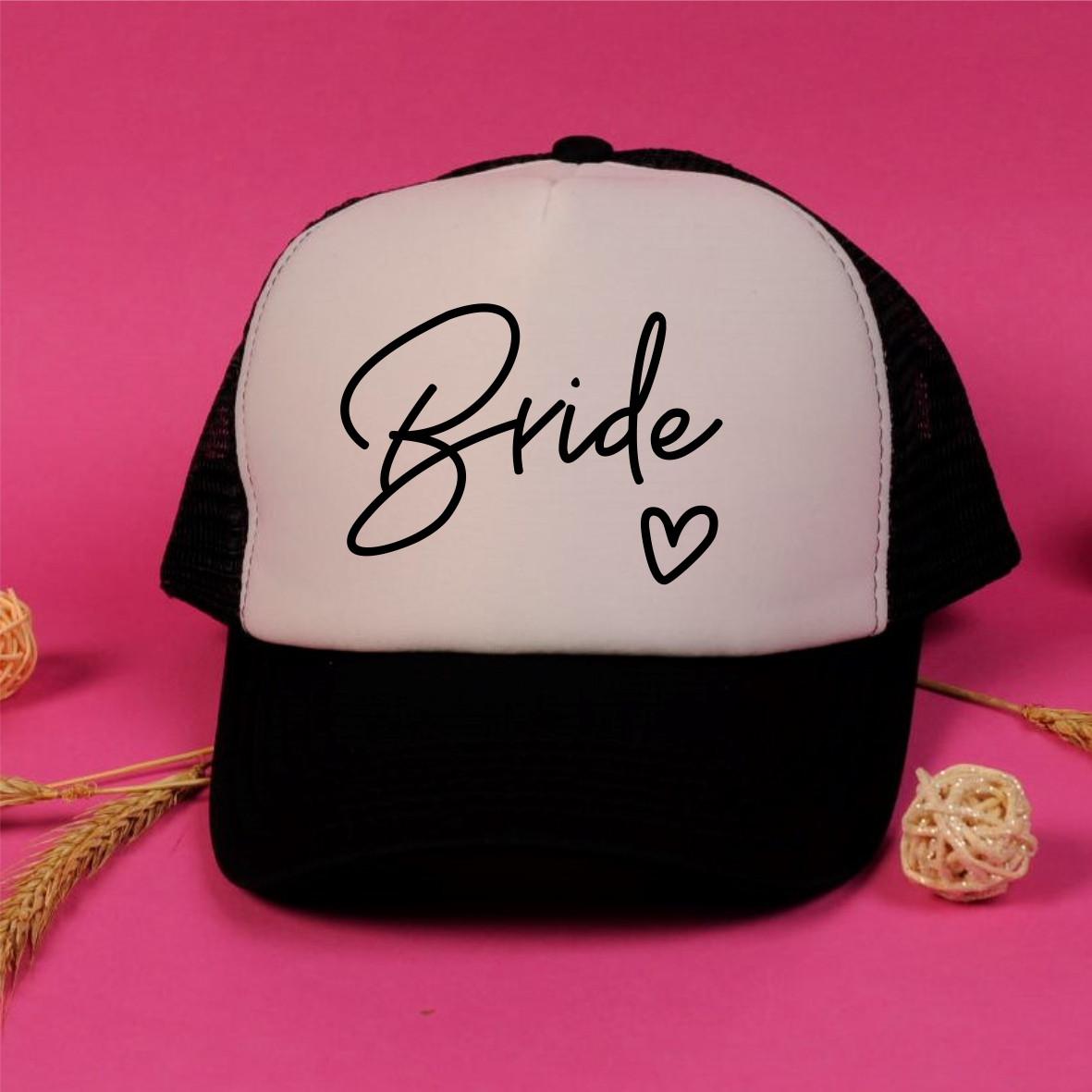 "Кепка на дівич-вечір для нареченої і подружок  ""Bride +Bride team"""