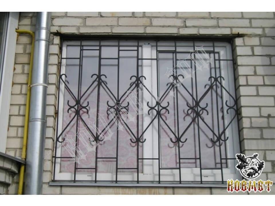 Решетки на окна материал