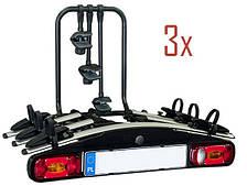 Велобагажник Aguri Active Багажник для перевозки 3-х велосипедов на фаркоп. Велокрепление.