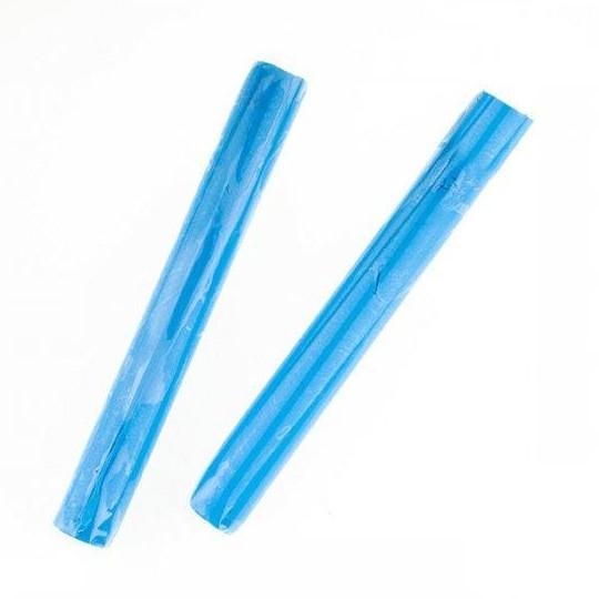 """Полімерна глина """" Пластишка """", Печеться, Пластику, Паличка 17 грам, Колір: блакитний флуоресцентний"""