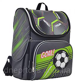 Рюкзак школьный каркасный YES H-11 Football, 33.5*26*13.5 (555144)