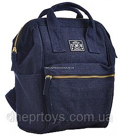 Рюкзак молодежный YES ST-19 Jeans, 33*23*15 (555497)
