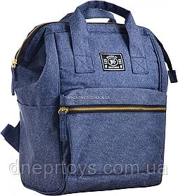 Рюкзак молодежный YES ST-19 Jeans, 33*23*15 (555498)