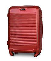 Чемодан Fly 1093 Средний 65х47х27 см 58 л на 4 колесах Красный