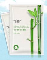 Маска для лица с экстрактами бамбука, гуайявы и гиалуроновой кислоты BISUTANG Bamboo Refreshing Replenishment