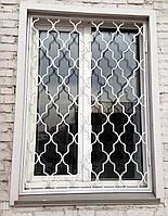 Установить металлические решетки на окна