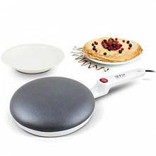 Электрическая блинная скороводка блинница от розетки SINBO 5208 сковорода для блинов CREPE MAKER 20 см
