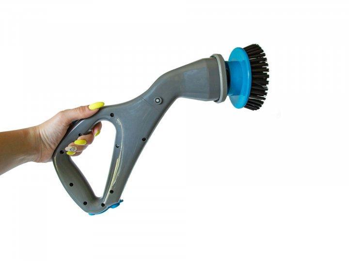 Hurricane muscle scrubber Аккумуляторная электрическая беспроводная щетка для чистки и уборки 3 в 1