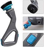 Hurricane muscle scrubber Аккумуляторная электрическая беспроводная щетка для чистки и уборки 3 в 1, фото 3