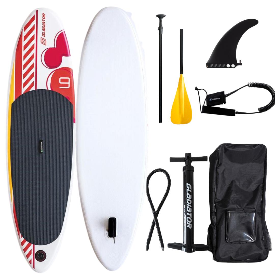 Сапборд детский GLADIATOR KIDS 9.0 2021  - надувная доска для САП серфинга, sup board