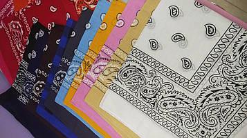 Модна бандана Пов'язка Маска Унісекс на голову шию особа на сумку і пояс дуже багато кольорів і принтів