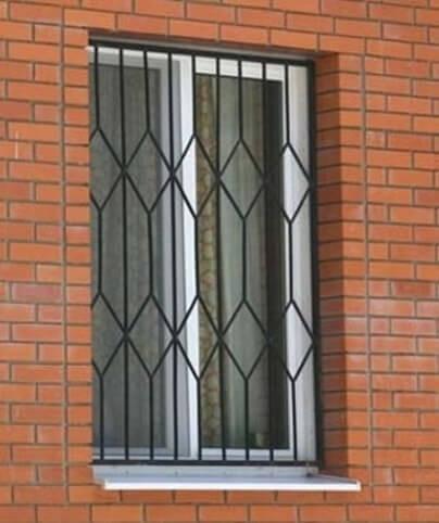Кованые решетки на окна купить