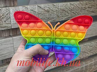 Pop it Антистрес сенсорна іграшка Метелик/Поп іт/