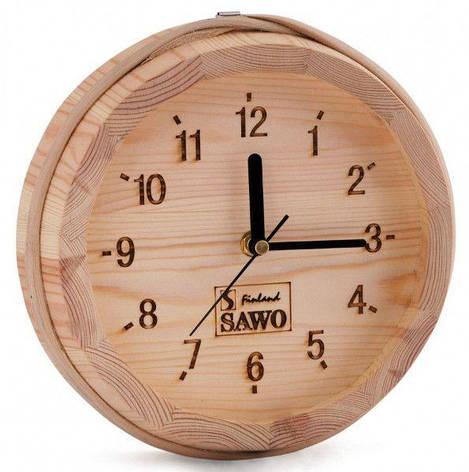 Часы настенные для предбаника Sawo 531-Р, фото 2