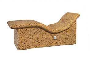Лежак из мозаики