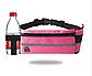 Спортивная сумка для телефона на пояс для бега. Бананка с креплением для бутылки. Сумка для тренировок, фото 5