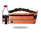 Спортивная сумка для телефона на пояс для бега. Бананка с креплением для бутылки. Сумка для тренировок, фото 7