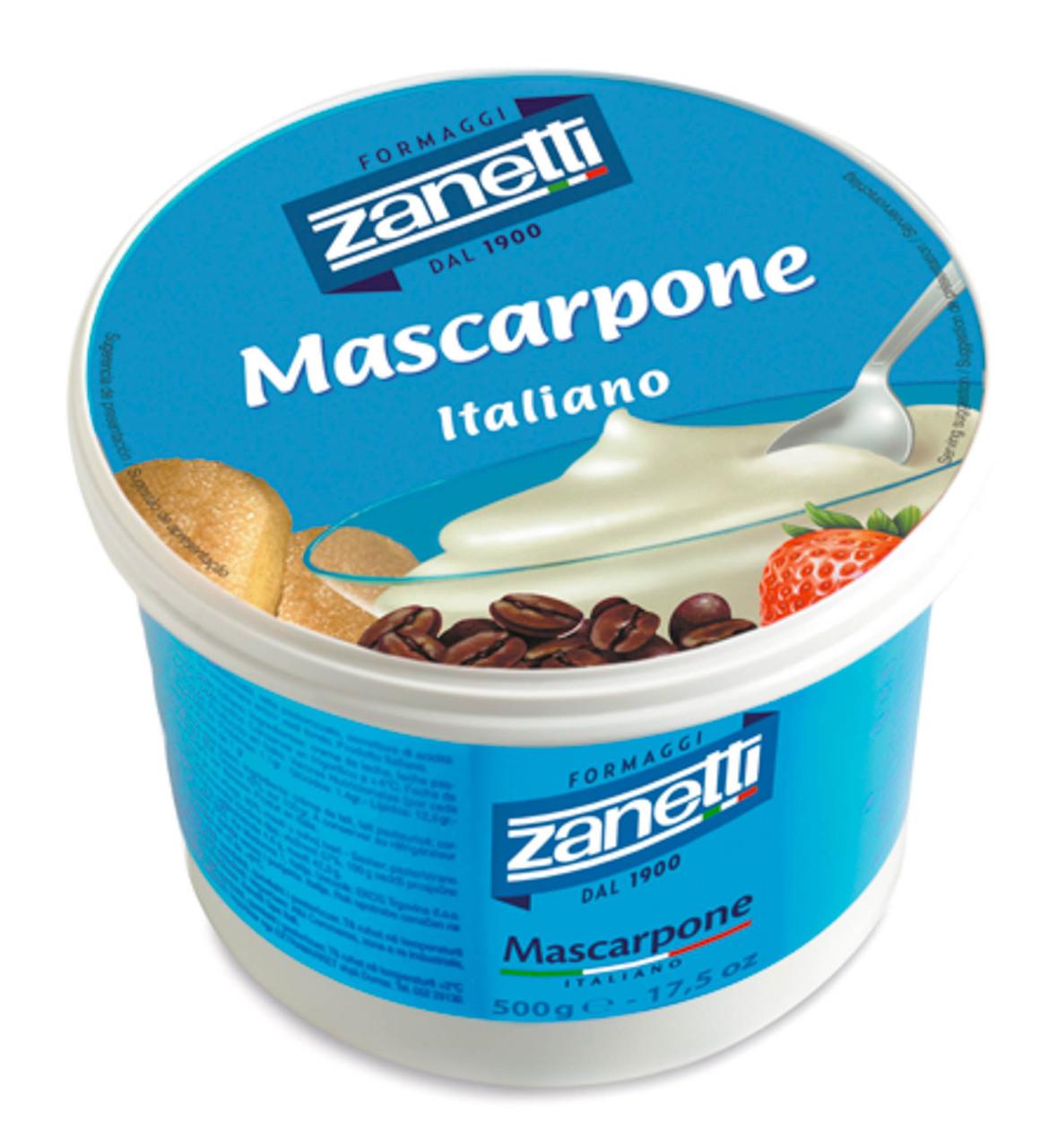 Сыр Маскарпоне 80%. ТМ Zanetti 500 г