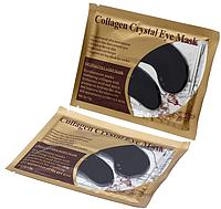 Патчі під очі Collagen Crystal чорні, фото 1