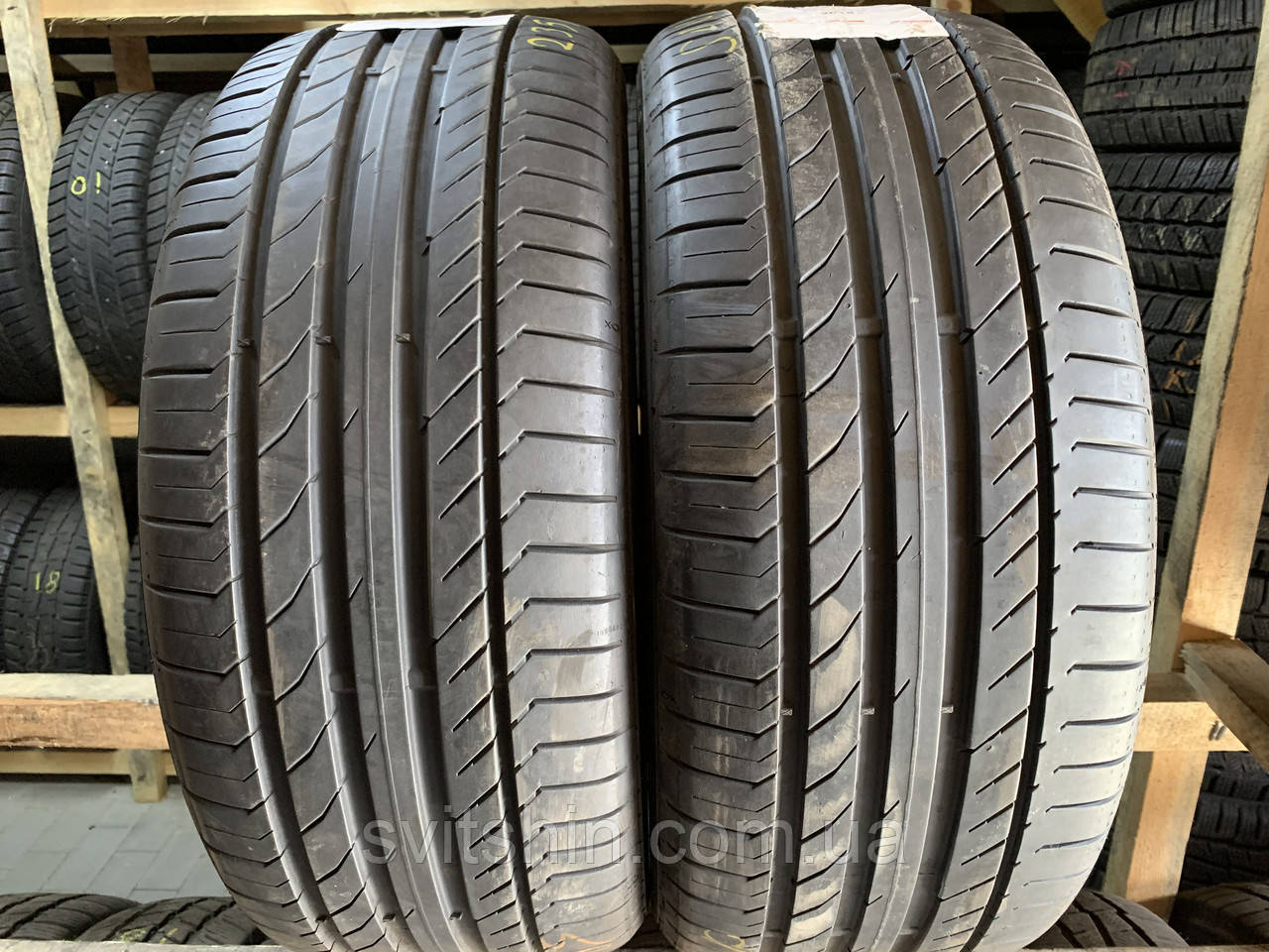 Літні шини 235/45R18 94W CONTINENTAL SportContact5 6.5+мм contiSEAL