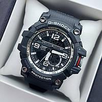 Мужские спортивные наручные часы Casio G-Shock GG-1000 черные с серебристым, код 2025