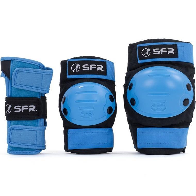 Комплект захисту SFR Ramp Jr M black-blue, фото 2