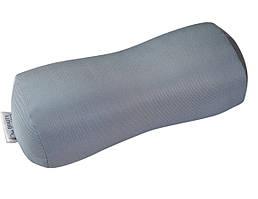 Валик под шею (тенсел) - Ортопедическая подушка Beauty Balance TM серый