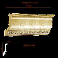 129-553 карниз Декор-Дизайн (168х64х2400 мм)