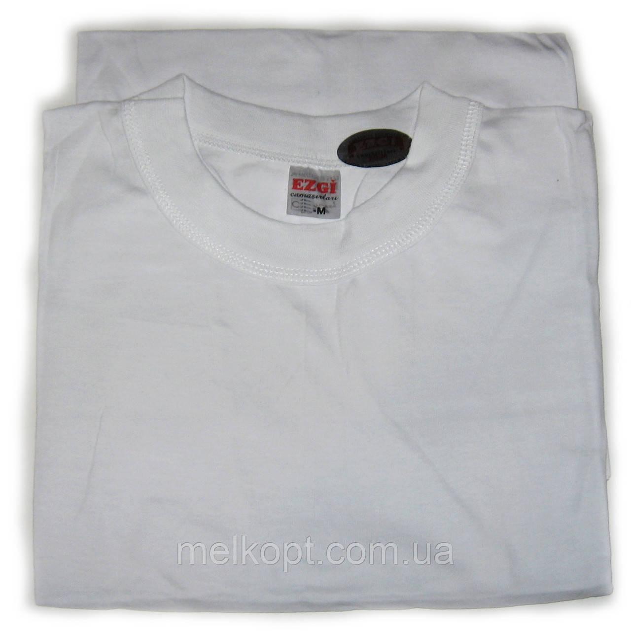 Чоловічі футболки Ezgi - 63,00 грн./шт. (66-й розмір, білі)