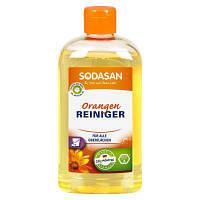 Моющая жидкость для уборки Sodasan Orange антижир 500 мл (4019886001403)