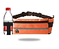 Спортивная сумка для телефона на пояс для бега. Бананка с креплением для бутылки. Сумка для спорта, фото 6